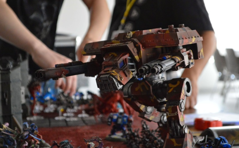 Luxcon 2014 – Warhammer 40k battle