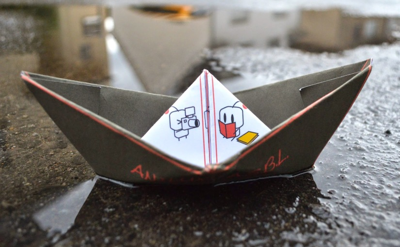 The AniLux Paper Boat