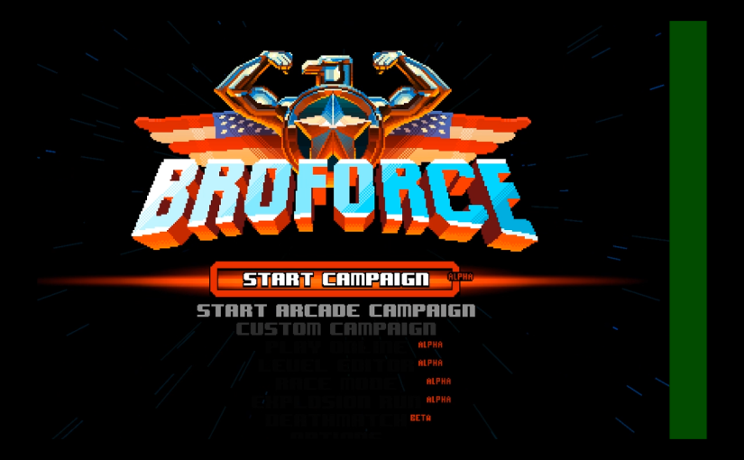 Broforce ( Early Access ) (PC,Mac)