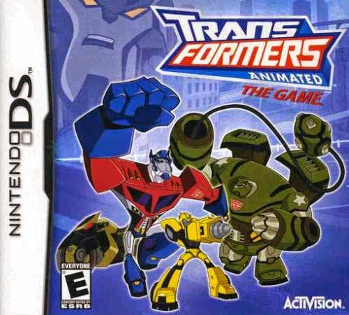 Transformers Animated The Game(DS)