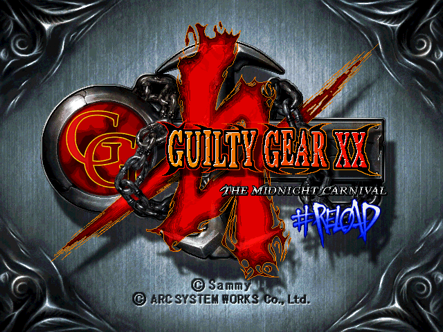 Guilty Gear XX Reload (PSP, PS2, Xbox &PC)