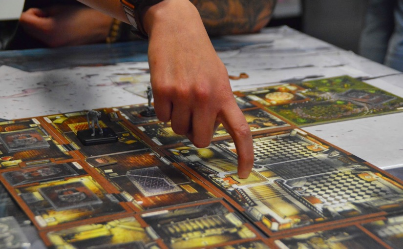 Cthulhu madness at Inked Geeks Board GameDay