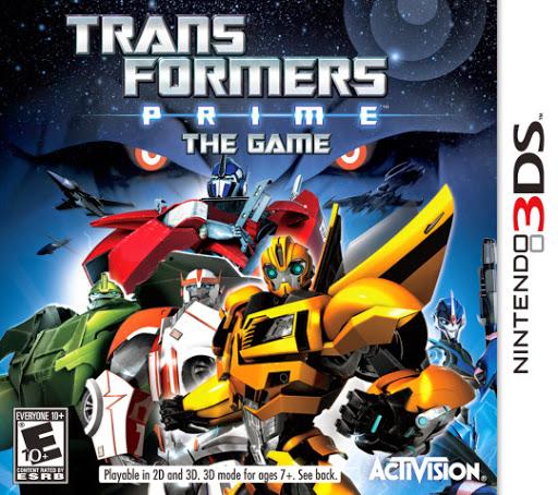 Transformers Prime (Nintendo 3DS, Wii &WiiU)