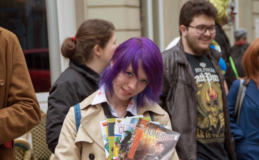 2 May – Free Comic Book Day at InkedGeeks