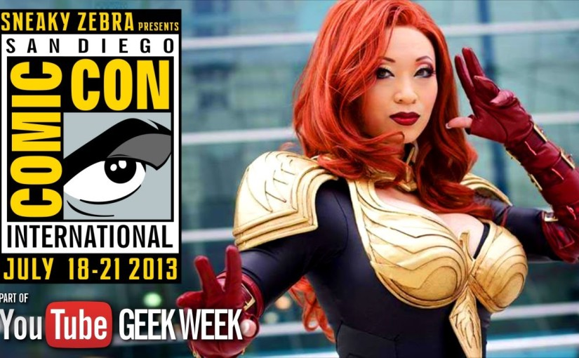 Geek Week: San Diego Comic Con – I Just Want To Be A SuperHero – Cosplay MusicVideo