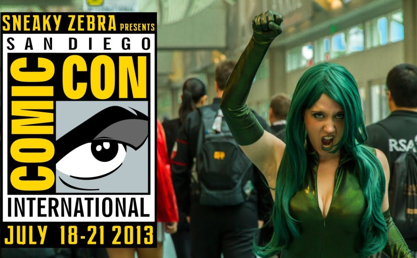 Comic Con (San Diego) – SDCC – Cosplay Music Video –2013
