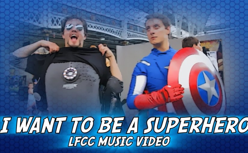 Cosplay Music Videos – Cosplay Music video – I Just Want To Be a Superhero (Comic Con)