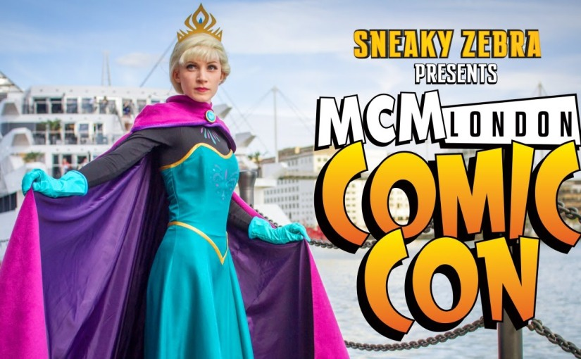 Sneaky Zebra presents MCM London Comic Con 2014 Cosplay Music Video