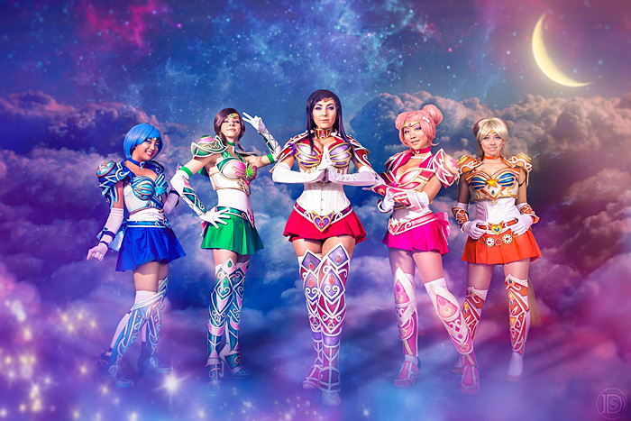 Battle Armor Sailor Scouts Cosplay from SailorMoon