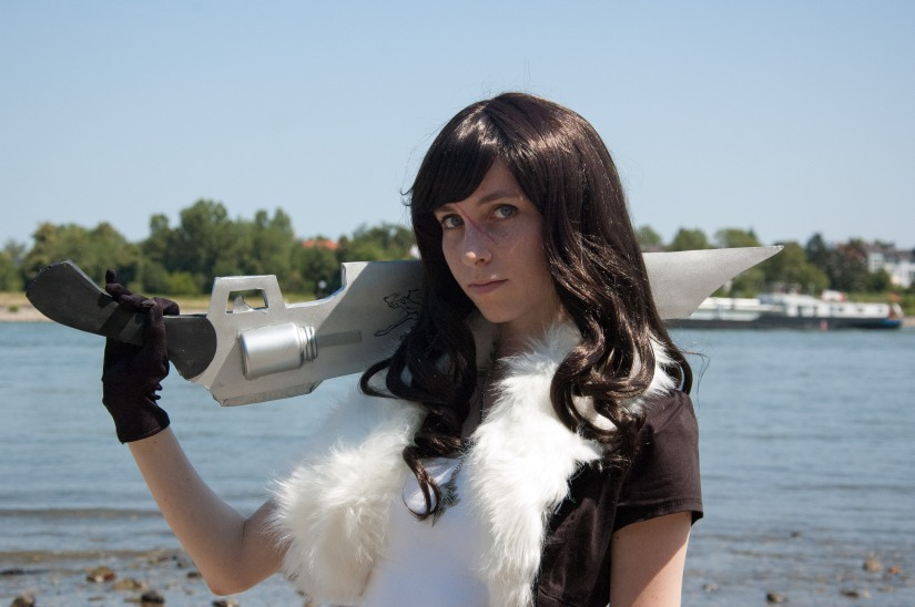 Female Squall from Final Fantasy VIII – Cosplay-shoot AnimagiC2015