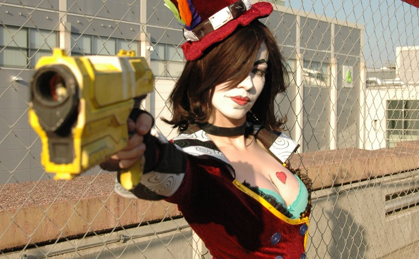 Don Ki Schotte Cosplay as Mad Moxxy from Borderlands @ Gamescom 2015