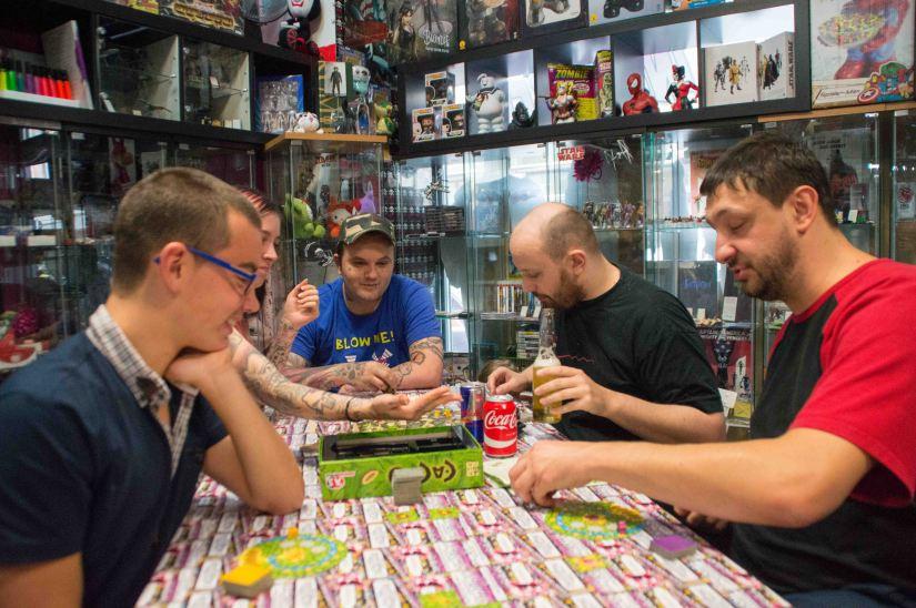 Inked Geeks Board Game DaySeptember