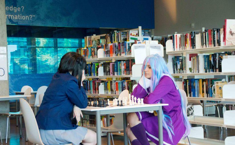 Azusa Nakano vs Shiro ChessBattle