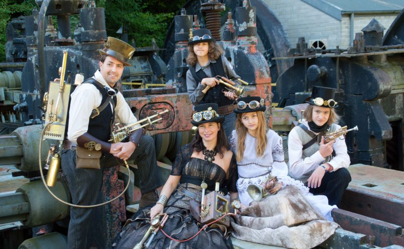 Anno 1900 – Steampunk Family