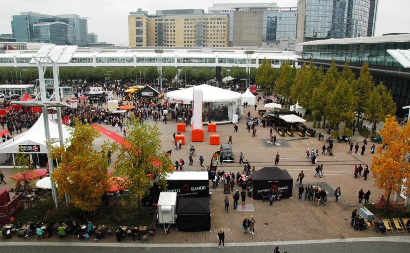 Frankfurt Book Fair 2015Outside
