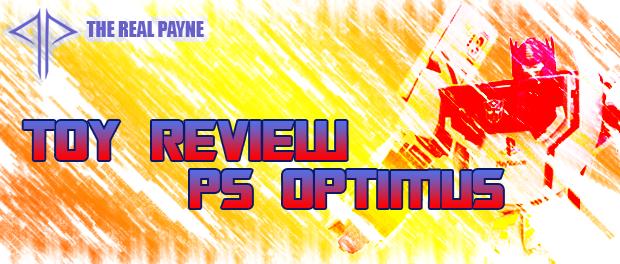 Takara Transformers x Playstation Optimus PrimeReview