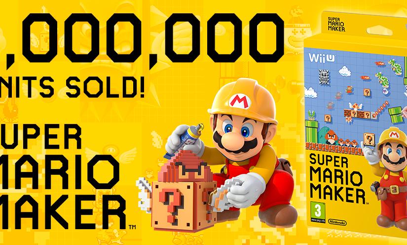 Super Mario Maker Sells Over 1 MillionWorldwide
