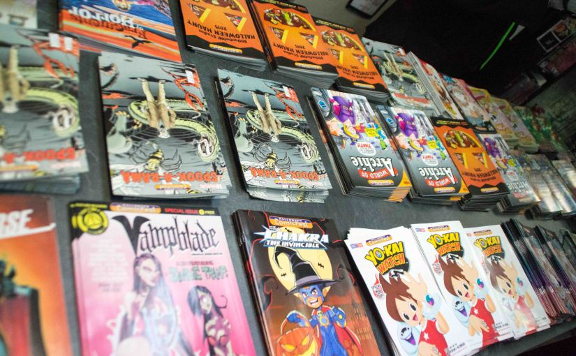 Free Halloween Comic Book Day 2015