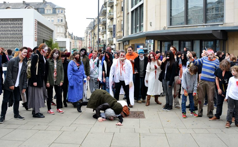 Zombie Walk at Esch sur Alzette 2015 – The walking Dead part 2