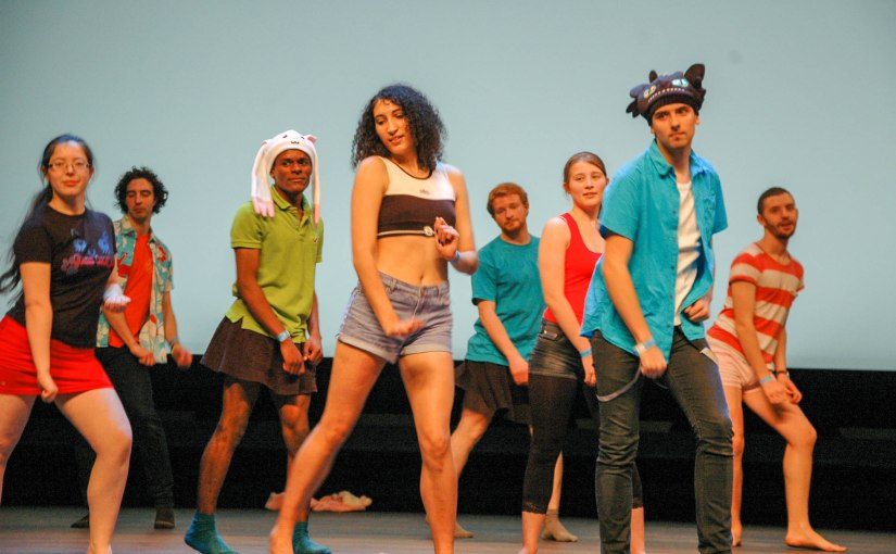 Anim´Est-Dancing Group Cosplay Contest2015