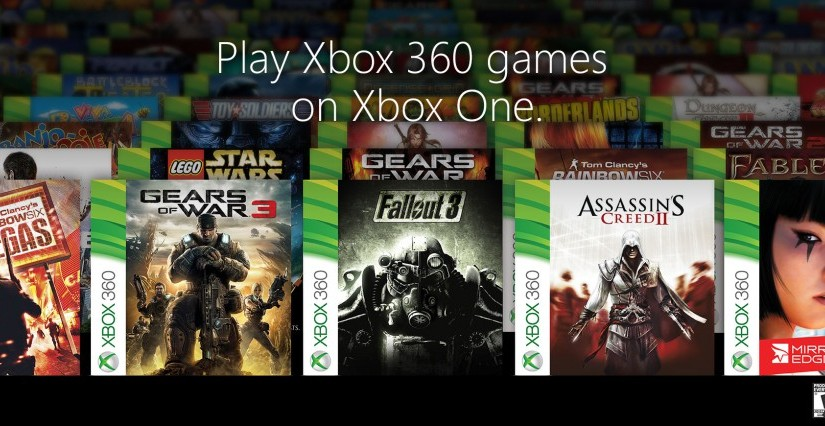 104 Xbox One Backwards Compatible Games Announced