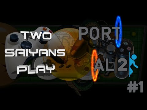 Two Saiyans Play: Portal 2