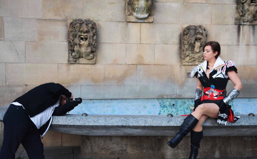 Yuuki Senoo and Ezio Shooting – Behind the Scenes
