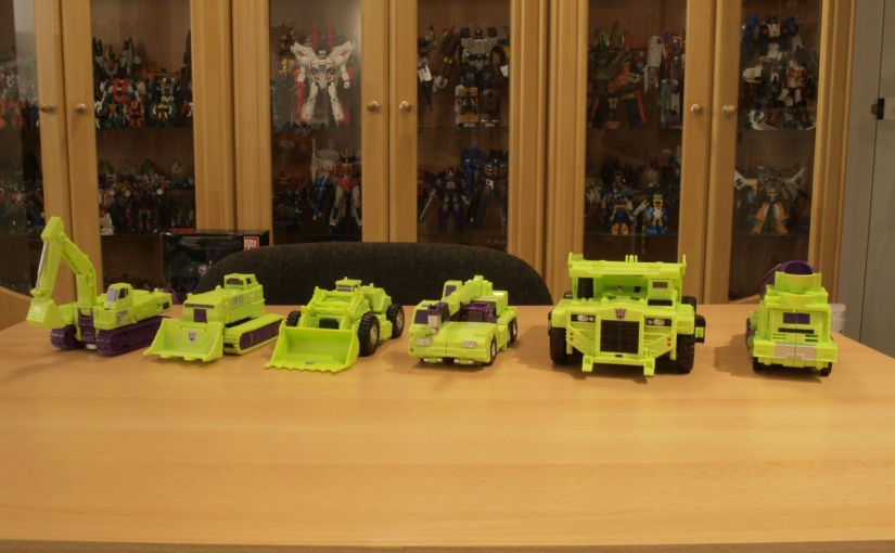 Transformers Unite Warriors Devastator