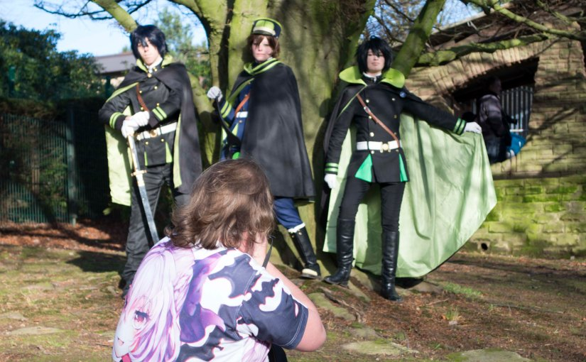 Owari no Seraph Fun – Shooting – Behind the scene