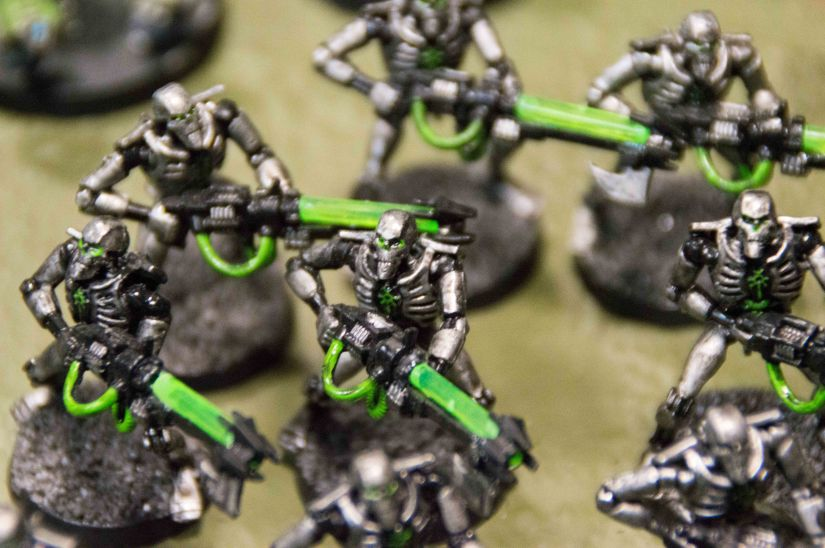 Inked Geeks – Painting Warhammer 40.000 Work inprogress