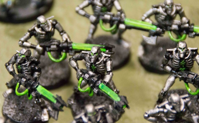 Inked Geeks – Painting Warhammer 40.000 Work in progress