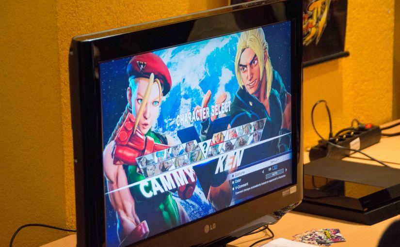 Gaming Cafe – Street Fighter VTournament