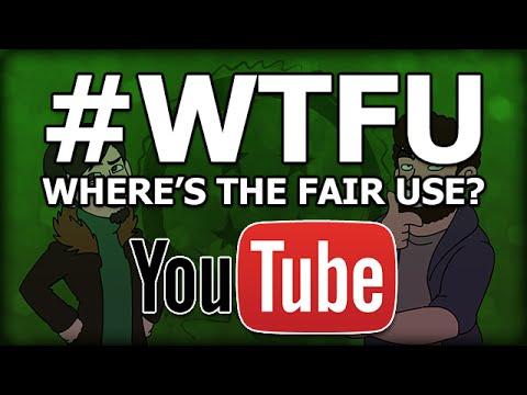 TEAMFOURSTAR AND YOUTUBE: Where's the FairUse?