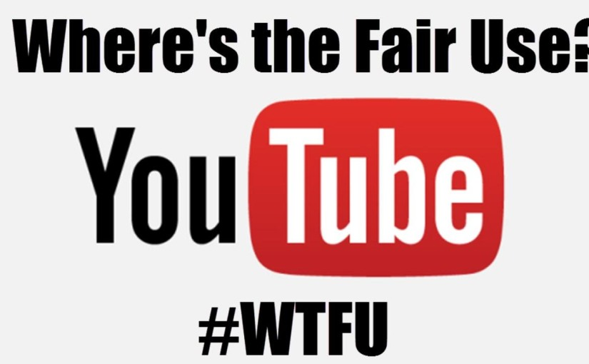 Let's talk about Where's the Fair Use?#WTFU