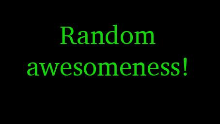 Random awesomeness! – Rat derVier