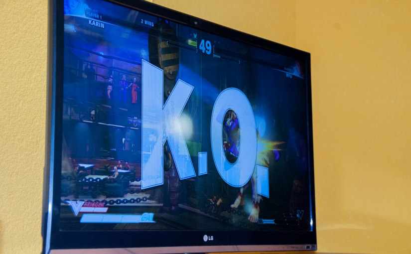 Street Fighter 5 Tournament at Gaming Café ROUND2