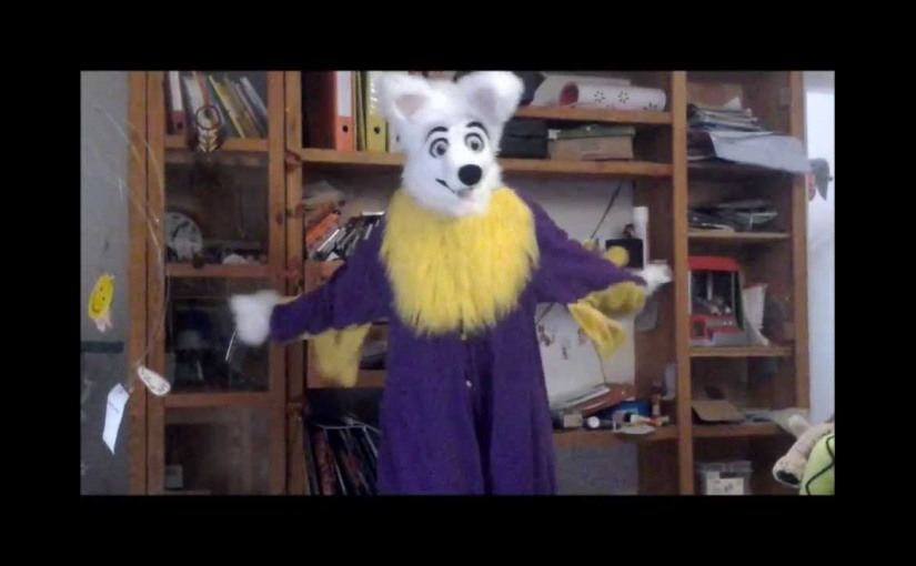 How NOT to dance in a fursuit