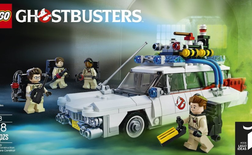 Lego Time Lapse – Ecto 1 Ghostbusters