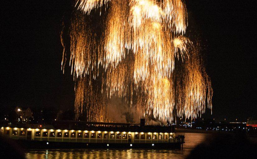 Japantag 2016 Feuerwerk