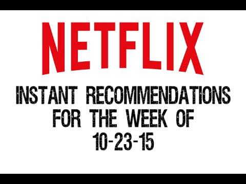 Netflix Instant Recommendations October 232015