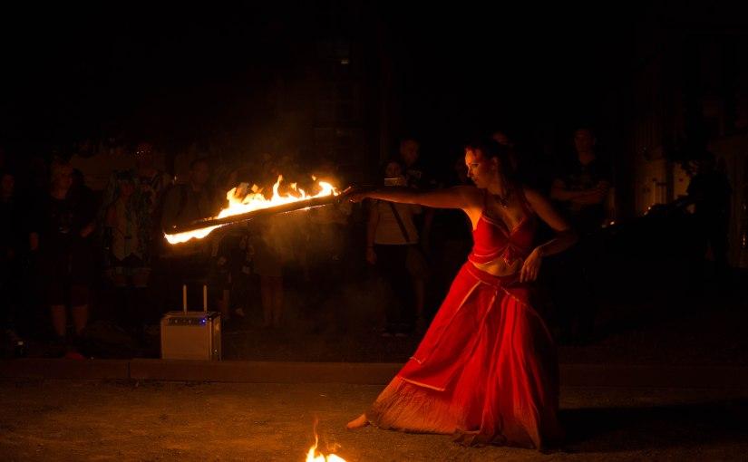 Contaku 2016 Fire danceShow