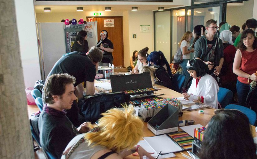 Animagic 2016 – Workshop Manga Hamburg
