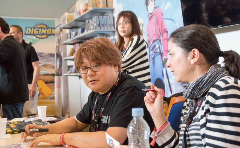 Animagic 2016 – Signing KSM Stand SeijiMizushima