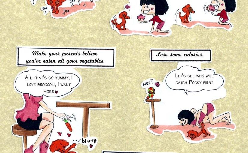 Cupcake Diary comic#1