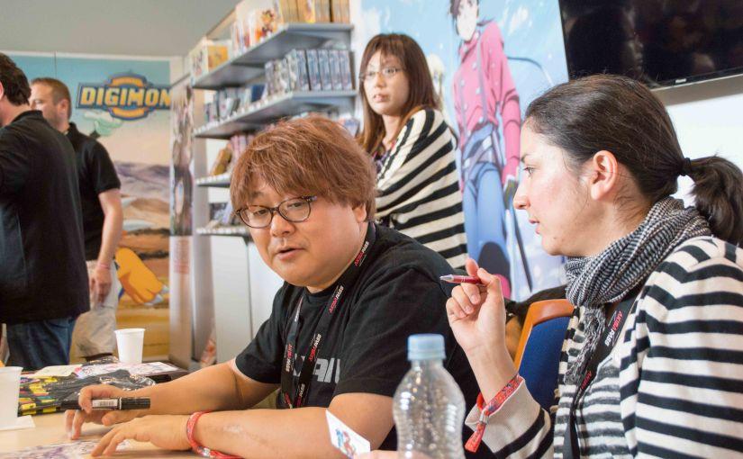 Interview with SeijiMizushima