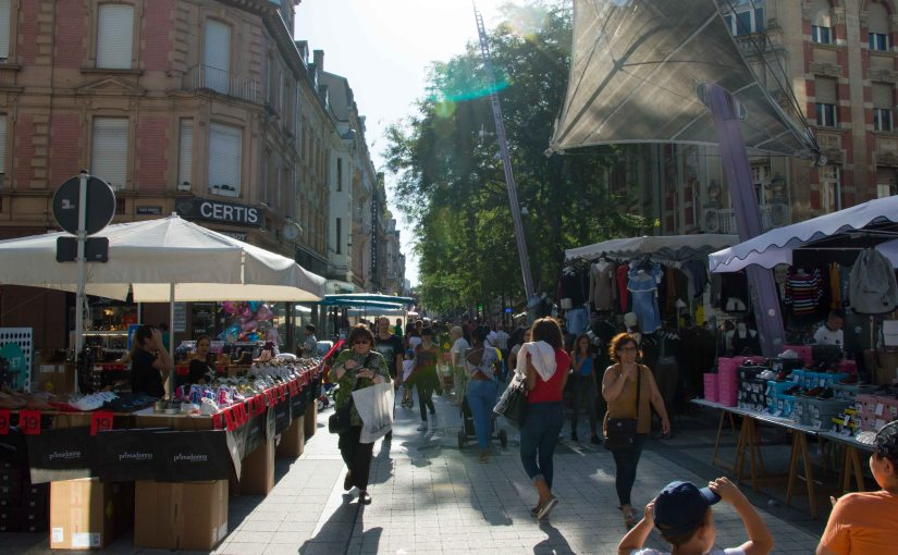 Braderie at Esch/Alzette