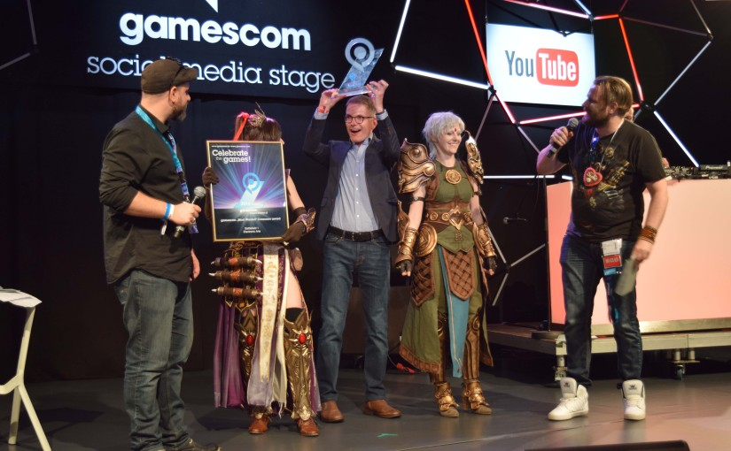 Gamescom 2016 – Gamescom Awards 2016 – Part 2