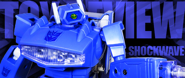 Takara Transformers MP-29 Laserwave (Shockwave)Review
