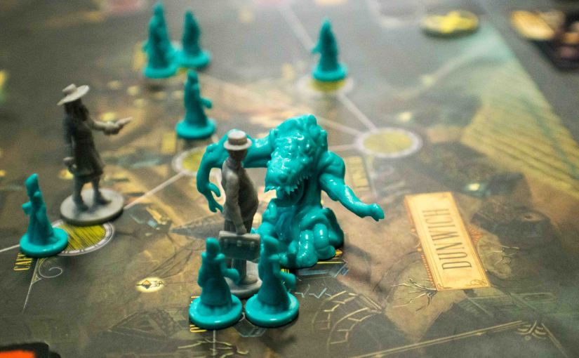 Pandemic Reign of Cthulhu at the Inked Geeks