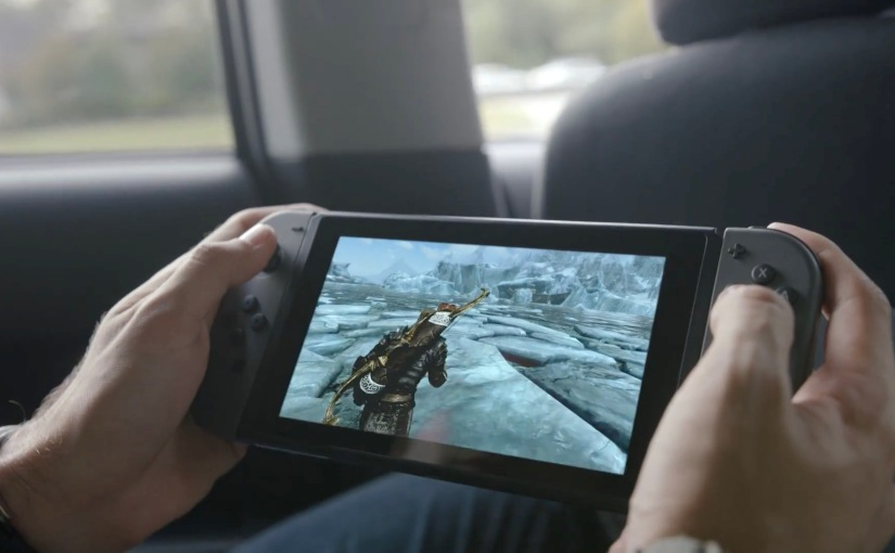 First Look at Nintendo's New Console, Nintendo Switch
